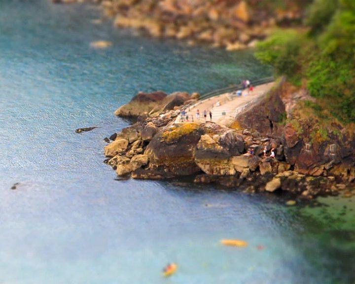 Miniature Ansteys Cove